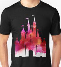 Pink childhood - edit on black  T-Shirt