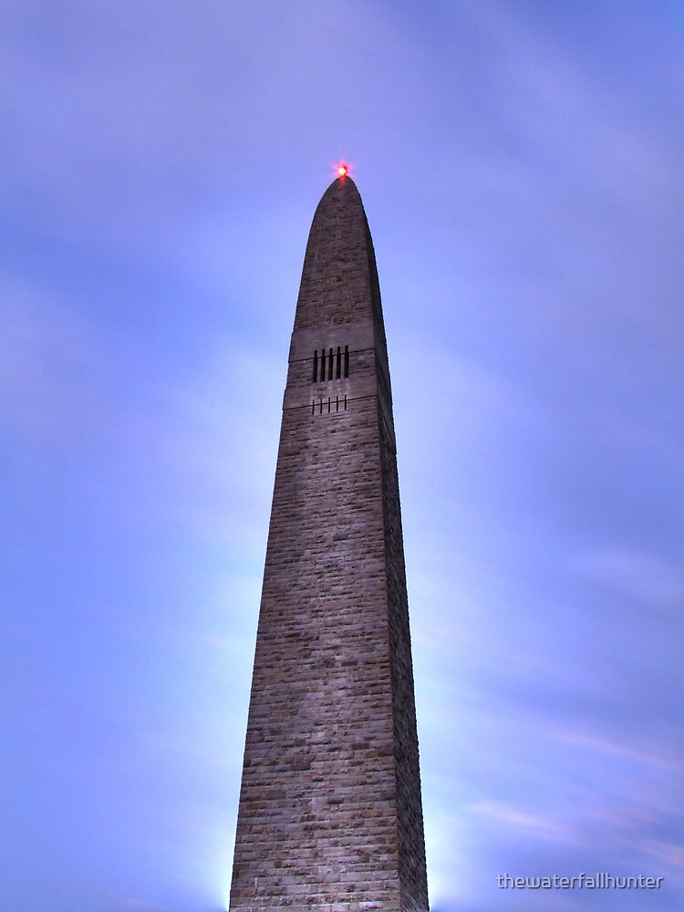 Bennington Monument  by thewaterfallhunter