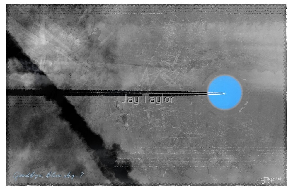 Goodbye Blue Sky Black and White Remix by Jay Taylor