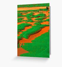 orange river Greeting Card