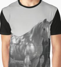 Horses black and white  Graphic T-Shirt