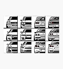 Nissan Skyline Story Photographic Print