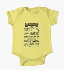 Motivational Quote Typography Vintage Dusty Ink Print Kids Clothes