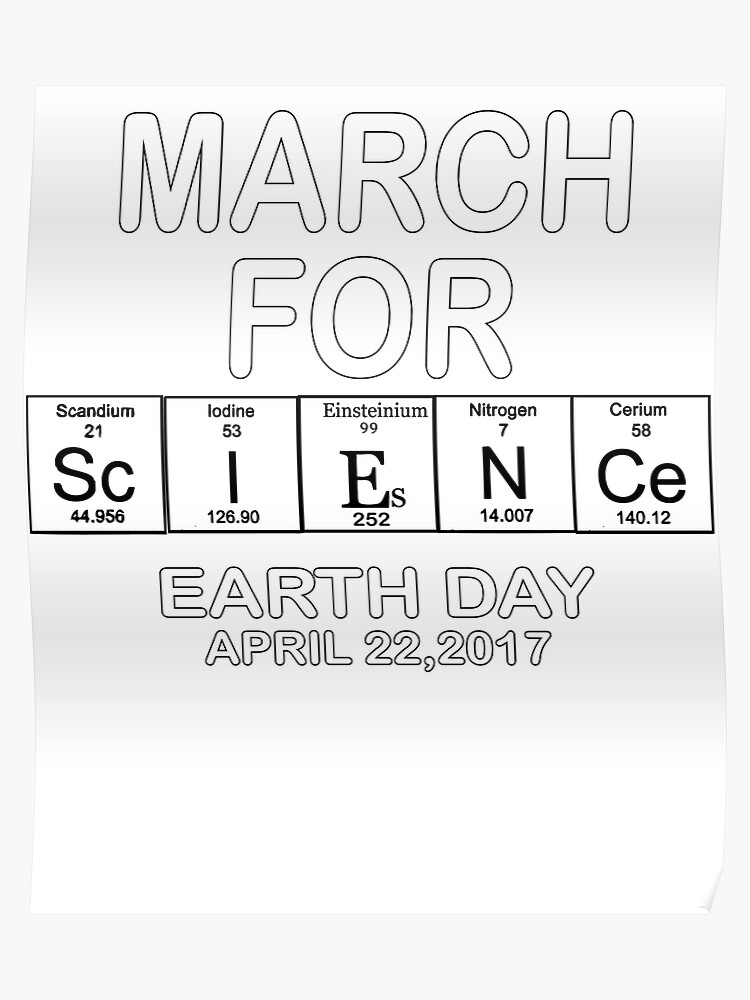 32cbf62f March For Science Shirts Political Shirt 2017 Earth Day March Shirt  Periodic Table Poster