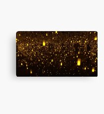 Kusama Infinity: Aftermath of Obliteration of Eternity Canvas Print