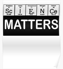 March For Science Shirts Political Shirt Science Matters Shirt Poster