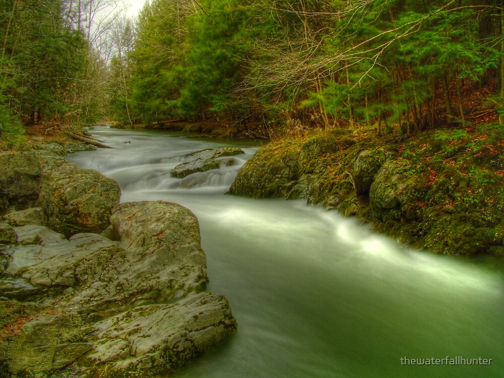 Mount Tabor River by thewaterfallhunter