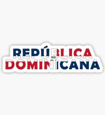 Dominican Republic - República Dominicana Sticker