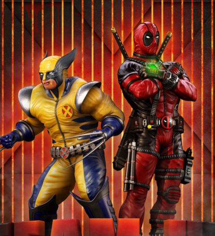 Wolverine and Deadpool Sticker