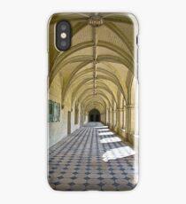 Fontevraud Abbey Colonnade iPhone Case/Skin