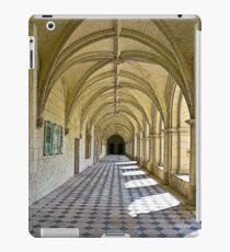Fontevraud Abbey Colonnade iPad Case/Skin