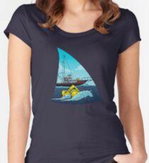 Kiefer: Der Orca Tailliertes Rundhals-Shirt