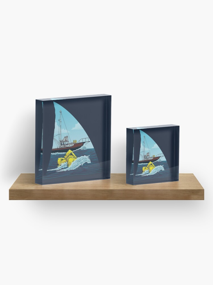 Alternate view of Jaws: The Orca Acrylic Block