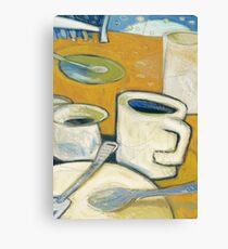 Honey Do Coffee Canvas Print