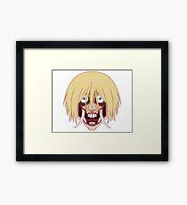 Demon Female Titan Framed Print