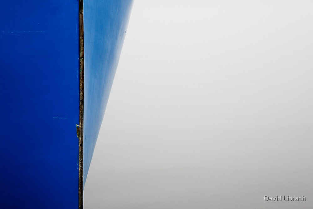 Blue Boat by David Librach - DL Photography -