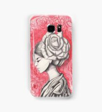 Colorless rose Samsung Galaxy Case/Skin