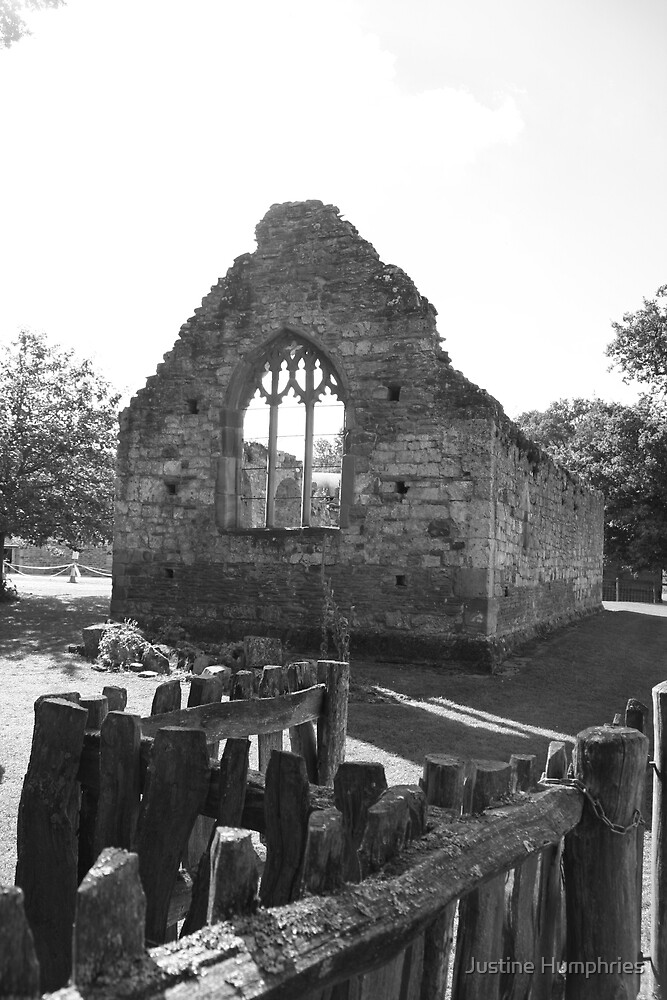 Ruined Chapel by Justine Humphries