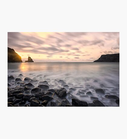 Talisker Bay Boulders at Sunset Photographic Print