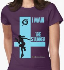The Stunner (Black) Womens Fitted T-Shirt