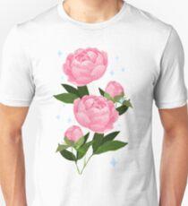 Pretty Peonies Unisex T-Shirt
