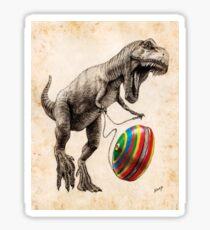 Jurassic Yoyo Sticker
