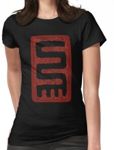 Nkyinkyim - Symbol of Versatility Womens Fitted T-Shirt