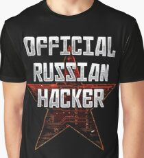 Official Russian Hacker Graphic T-Shirt
