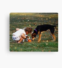 Whose's Toy Canvas Print