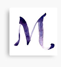 Alphabet M Canvas Print