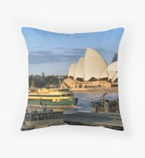 Circular Quay Throw Pillow
