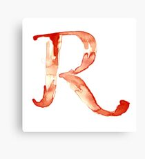 Alphabet R Canvas Print