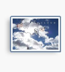 CLOUD PEOPLE Plus Canvas Print