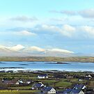 Clew Bay Ireland by DES PALMER