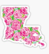 Louisiana Lilly Roses Sticker