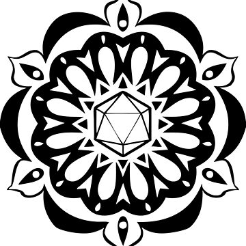 d20 Mandala by Copperminx