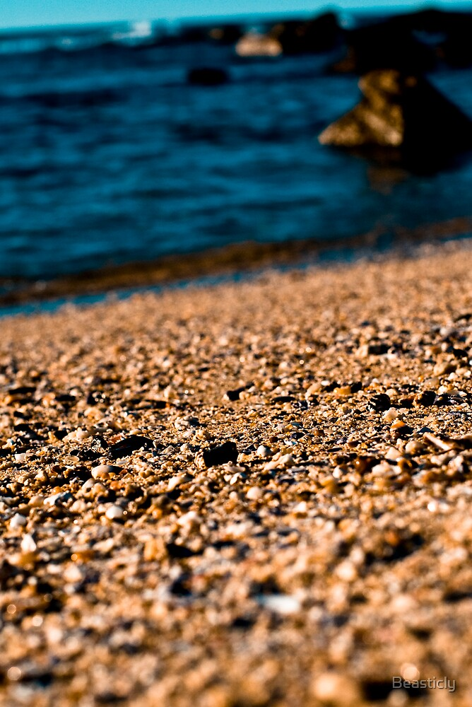 Sandy Beach by Beasticly