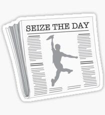 Seize the Day - Newsies Sticker