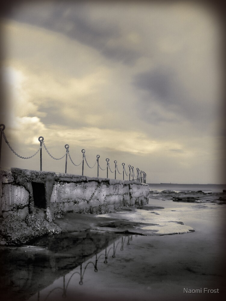 """""""Posts & Chains"""" Collaboration with Mel Brackstone by Naomi Frost"""