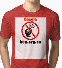 4Q T-Shirt . Style T2 Google kew.org.au Tri-blend T-Shirt