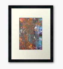 Alchemy of the soul 11.11.15 35cm x 45cm Inactive rust Framed Print