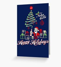 Nuka Cola Christmas! Greeting Card