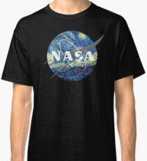 Camiseta clásica Logo de la NASA Van Gogh