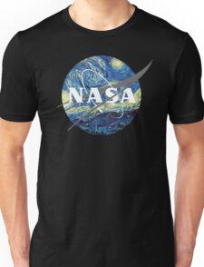 Nasa Logo Van Gogh  Unisex T-Shirt