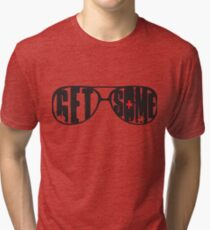 """Get Some"" Generation Kill Inspired - Black Tri-blend T-Shirt"