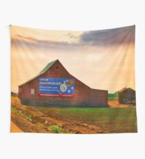 Oregon - Onion Country Wall Tapestry