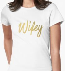 Wifey Faux Gold T-Shirt