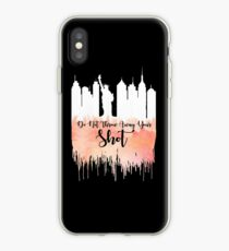 Hamilton - My Shot  iPhone Case