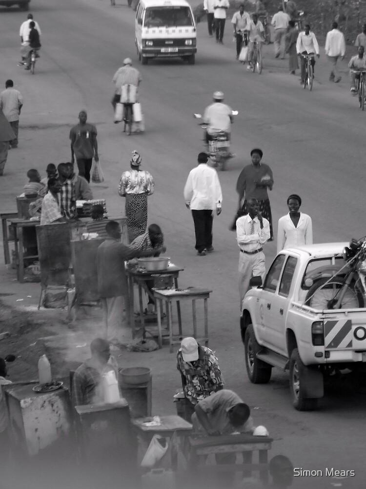 Iganga Highway, Uganda by Simon Mears
