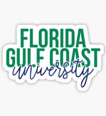 Florida Gulf Coast University - Style 13 Sticker